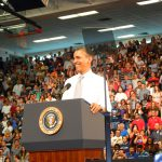 President Obama at FAU on April 10 2012