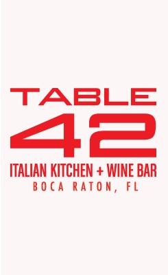 Table 42 Boca robbery