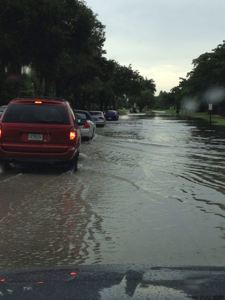 flooding in boca raton post Isaac
