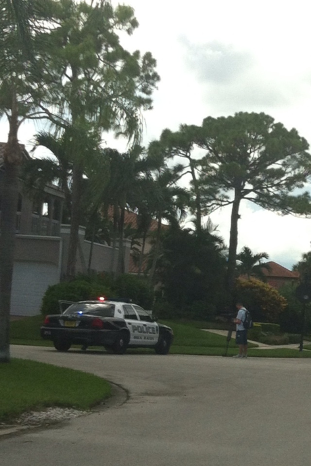 boca raton standoff in new floresta