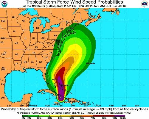 hurricane sandy closures delays boca raton