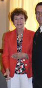 Lyn Houston, shown in a Boca Raton Rotary Club photograph.
