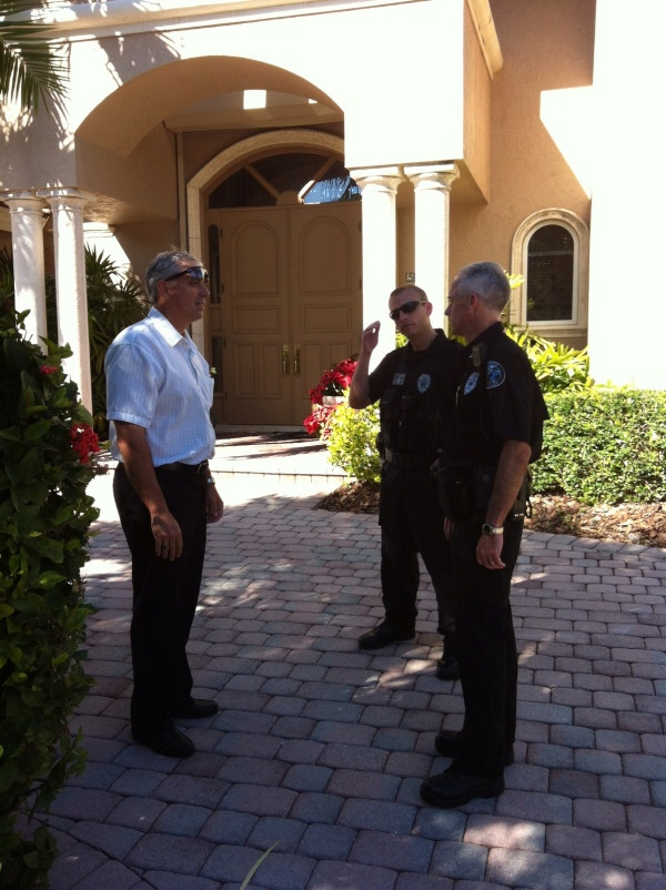 Boca Police Oust Squatter From Boca Mansion