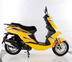 One model of a Tao Tao scooter, courtesy TaoTao USA.
