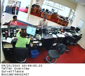 Who is the man in the hat? Police say he attempted to rob a Boca Raton area bank.