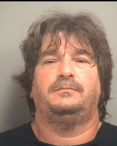 Skipper Dangler, arrested for allegedly contracting without a license in 2002. Photo courtesy Palm Beach County Jail.