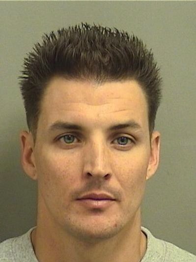 Jesse Coursey, courtesy Palm Beach County Jail.