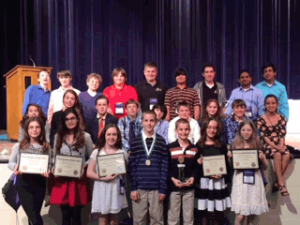 Boca Middle School Student Government receives top honors.