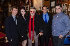 Ben Beeler, Jordan Hall, Burt Reynolds, Raymond Knudsen, Chandler Kravitz