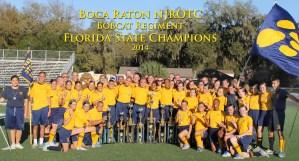 Boca Raton NJROTC Bobcat Regiment.
