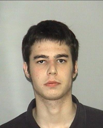 DEAD: Matthew Pollow was killed by a PBSO Deputy Wednesday night. He is seen here in a 2004 booking photo, courtesy Palm Beach County Jail.