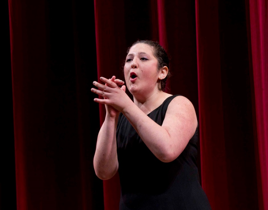 Eliana Meyerowitz placed as one of ten finalists in the annual English-Speaking Union National Shakespeare Competition. She attends Boca Raton Community High School.