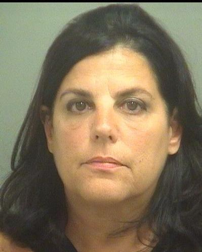 Karen R. Giannantonio, Courtesy Palm Beach County Jail.