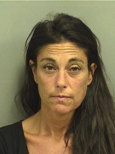 Sari Lisa Ross, Courtesy Palm Beach County Jail.