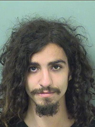 Devin Thornhurst, Courtesy Palm Beach County Jail.