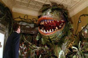 Feed Me, Seymour. (Scene from Little Shop of Horrors).