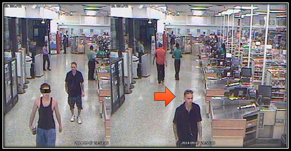 WHO IS HE? PBSO says this man stole credit cards and ID from The Oaks, then used the credit cards at the Sandalfoot Publix.