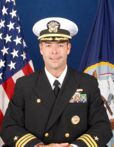 Boca Raton native Commander Dennis Farrell is leaving the USS Cole for a Pentagon assignment.