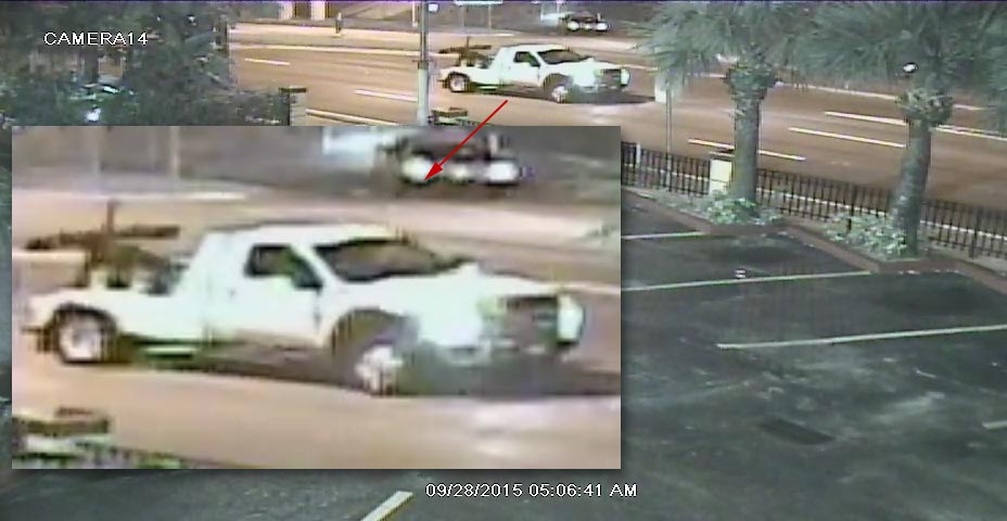 Have you seen this truck? If so, please call FDLE at 305-470-5500.