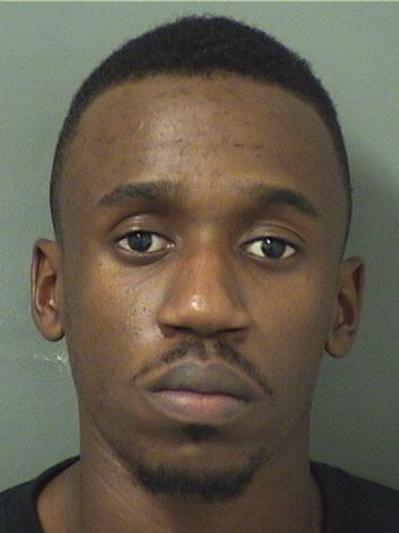 Ransford Bailey, Courtesy Palm Beach County Jail.