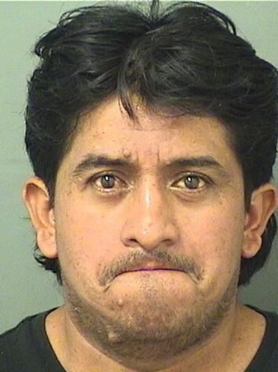 Menfil Lopez, Courtesy Palm Beach County Jail.