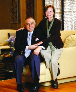 Toby and Leon Cooperman