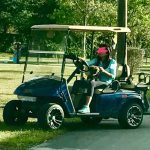 Boca Rudeton Golf Cart