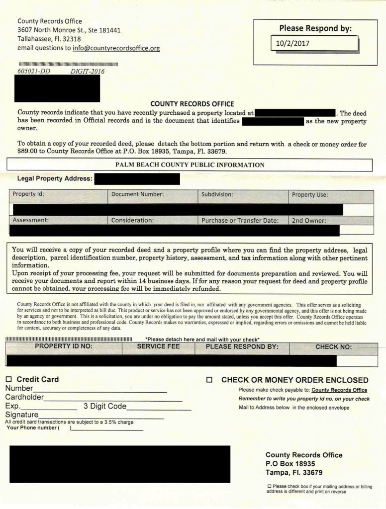 West Palm Beach Deed Records