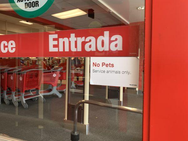 target no pets