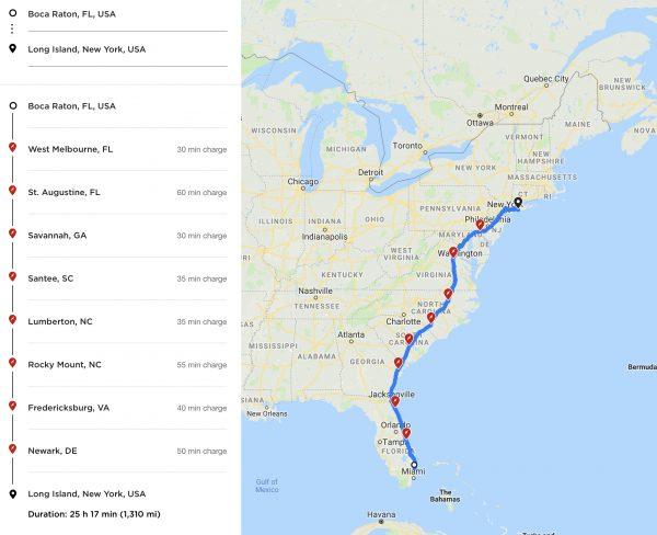 Tesla Charging Storm Evacuation