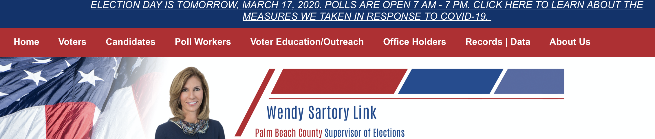Election Day palm beach county