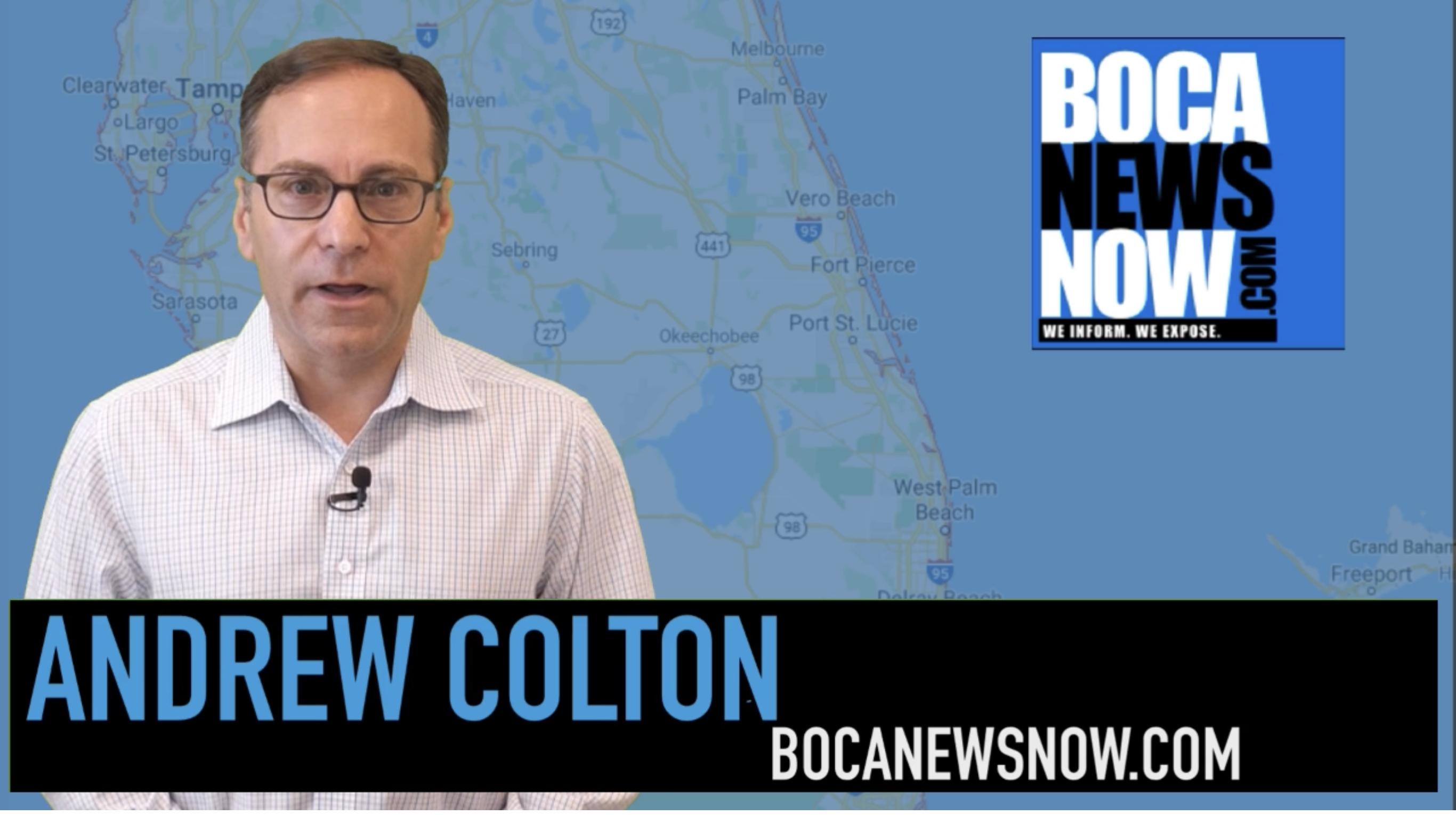 Andrew Colton BocaNewsNow.com TV