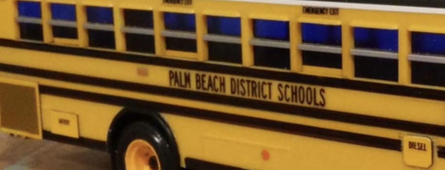 palm beach school bus