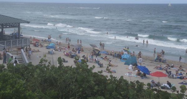 Boca beach Saturday may 23 2020
