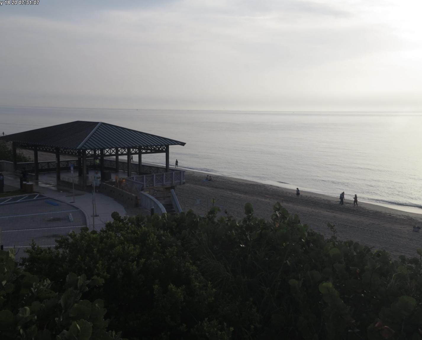 Boca Raton Beach Cam May 18 2020