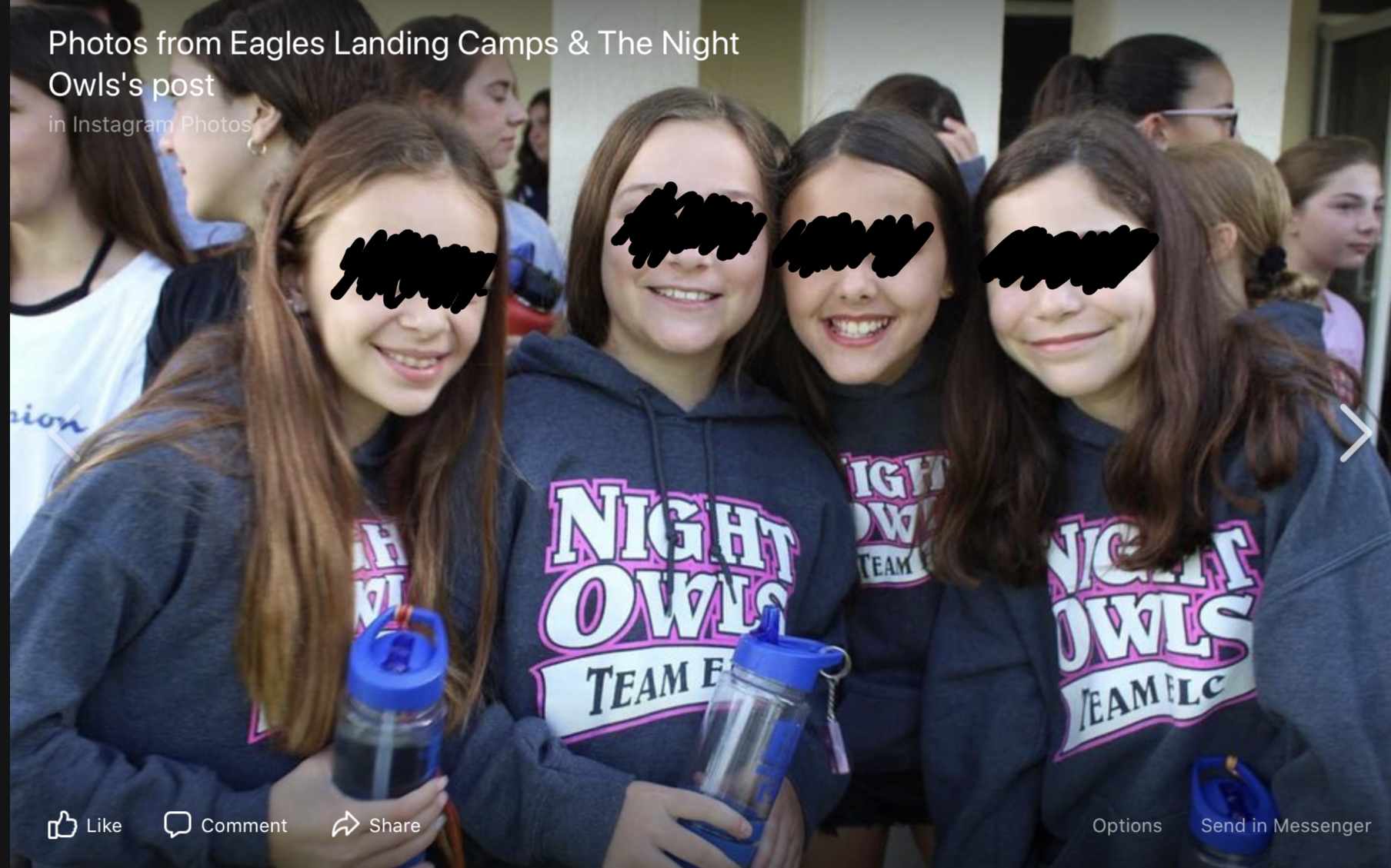 eagles landing and the night owls camp