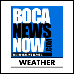 weather from BocaNewsNow.com