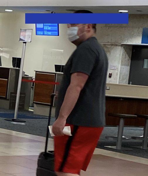 PBI airport facial coverings
