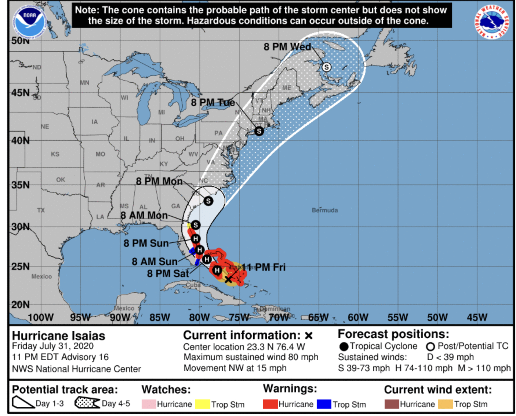 hurricane isaias