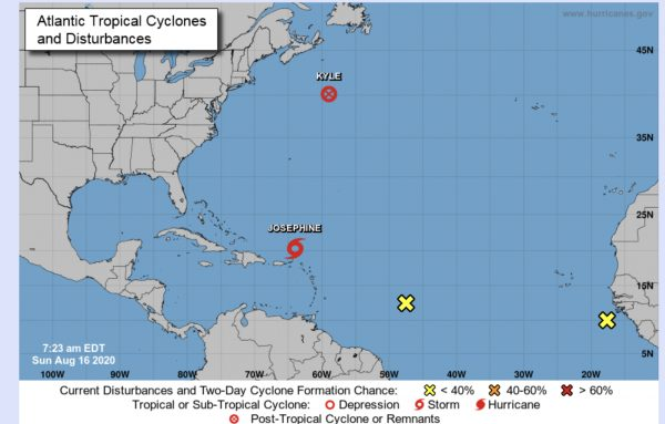 hurricane center august 16 2020