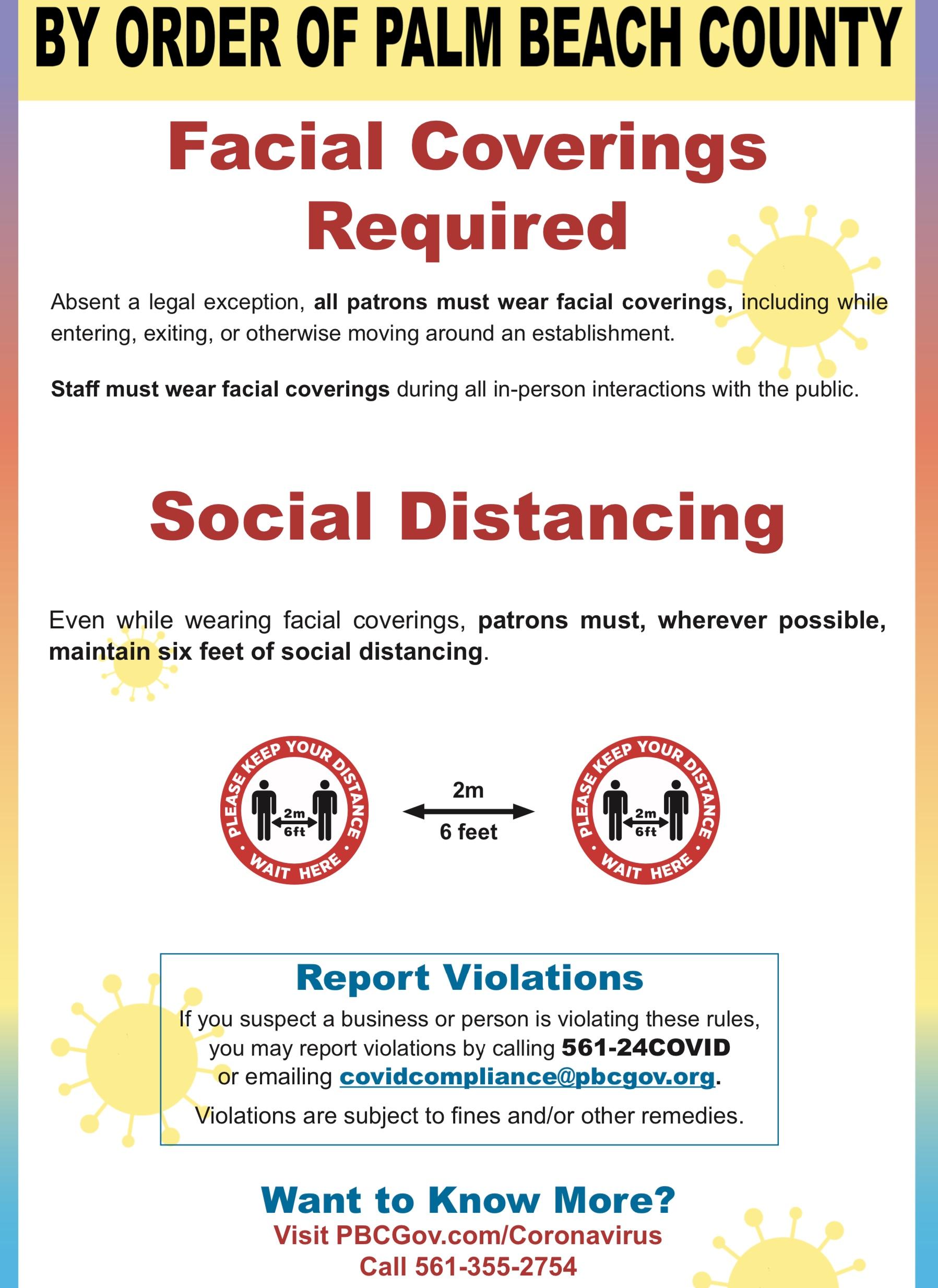 Palm Beach County Violation
