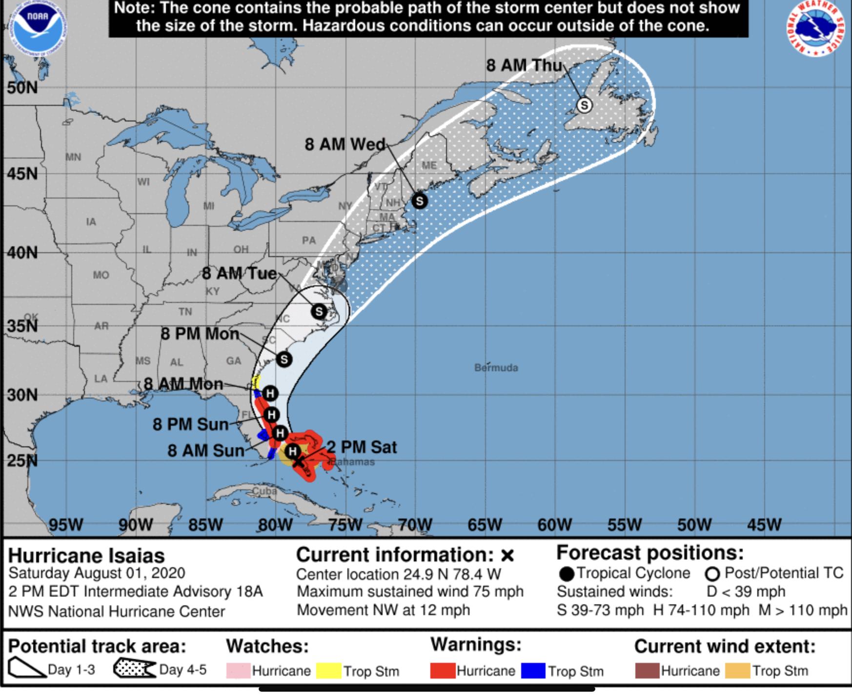 hurricane isaias palm beach county