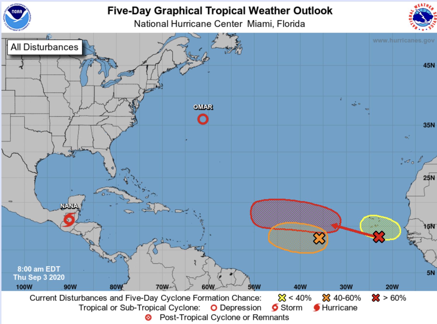 hurricanes florida gulf coast sept.3 2020