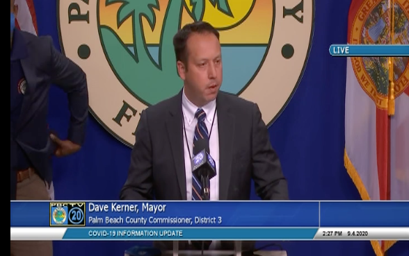 Palm Beach County Mayor David Kerner