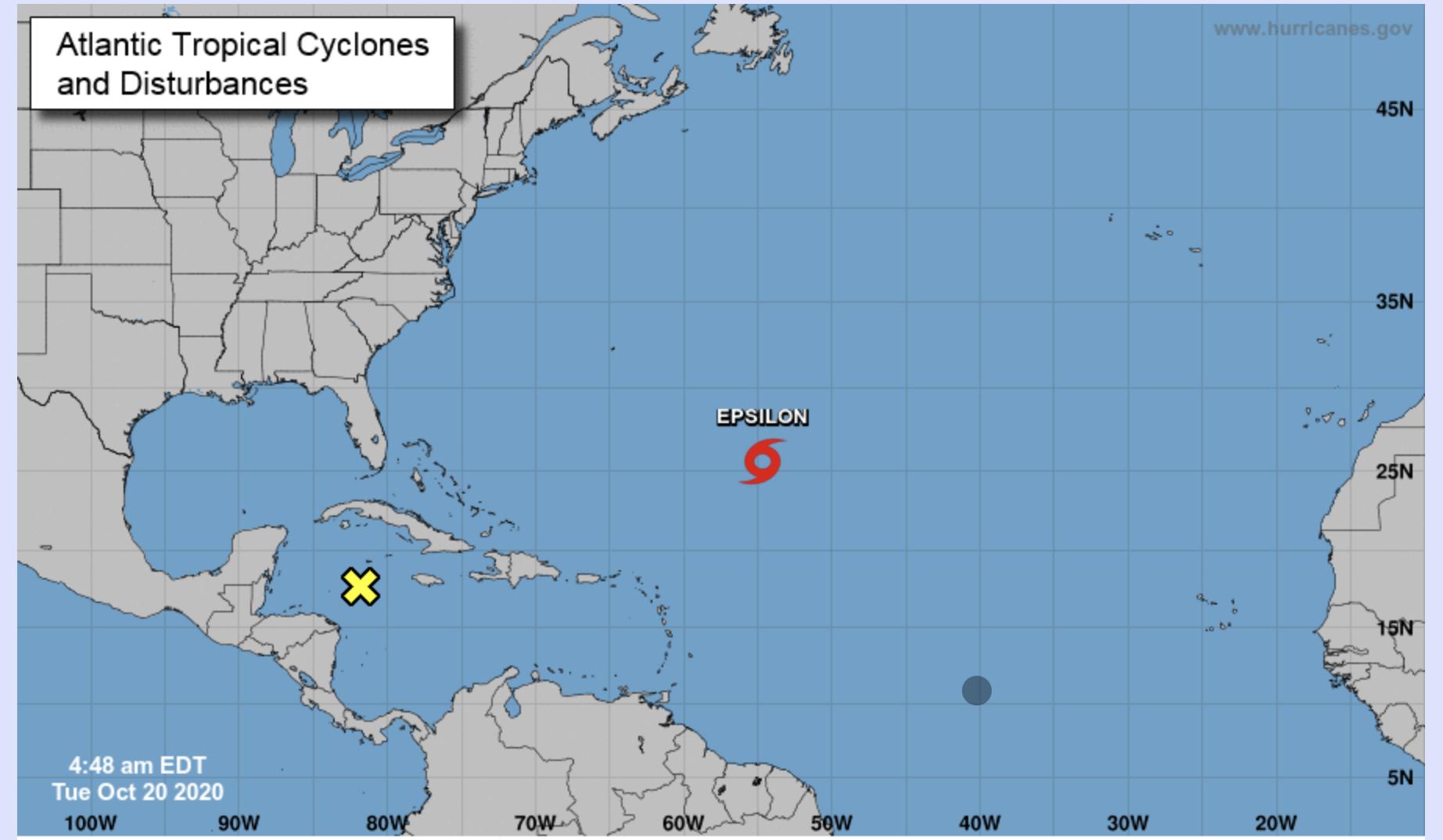 Tropical Storm Epsilon