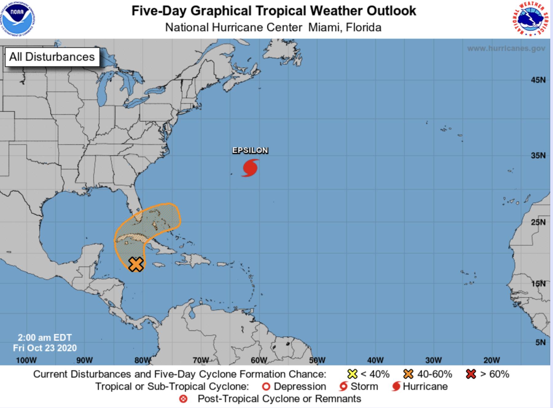 hurricane center october 23 2020