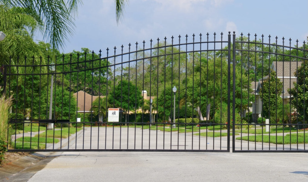 Gated community security