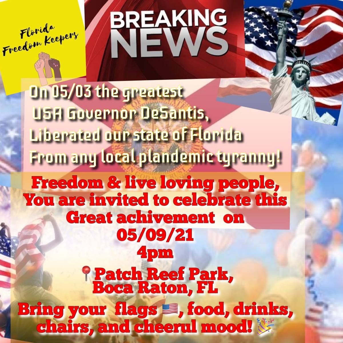 Florida freedom keepers
