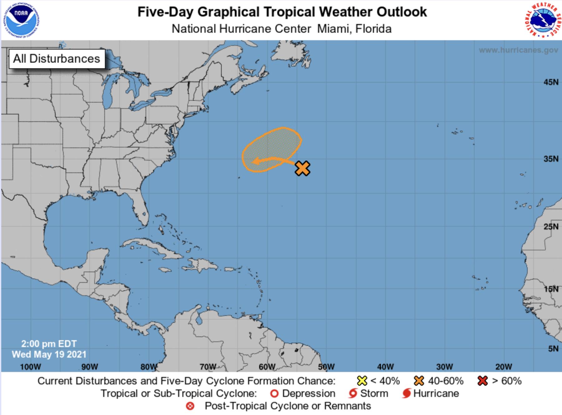 Tropical wave may 2021