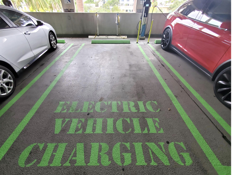 Electric car charging delray beach